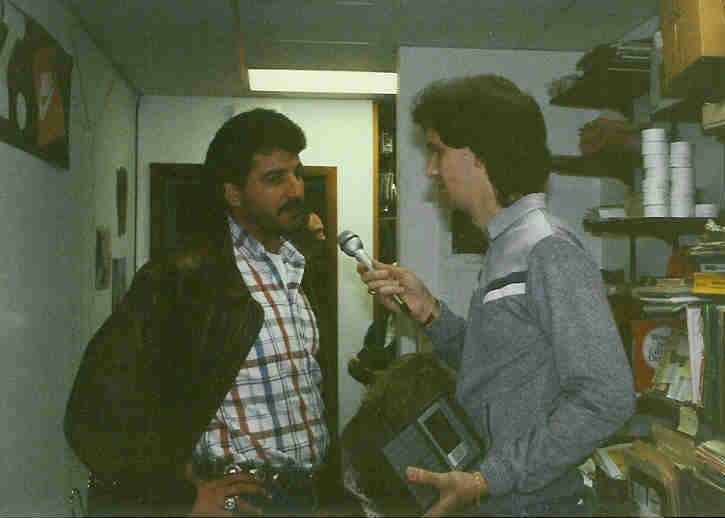 Chris DeBello With Keith Hernandez