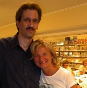 Chris DeBello with Lisa Scottoline